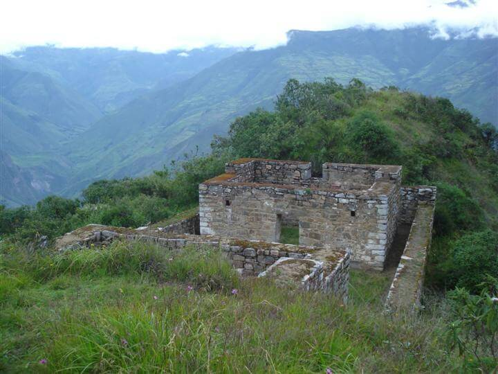 Twin Buildings at Choquequirao