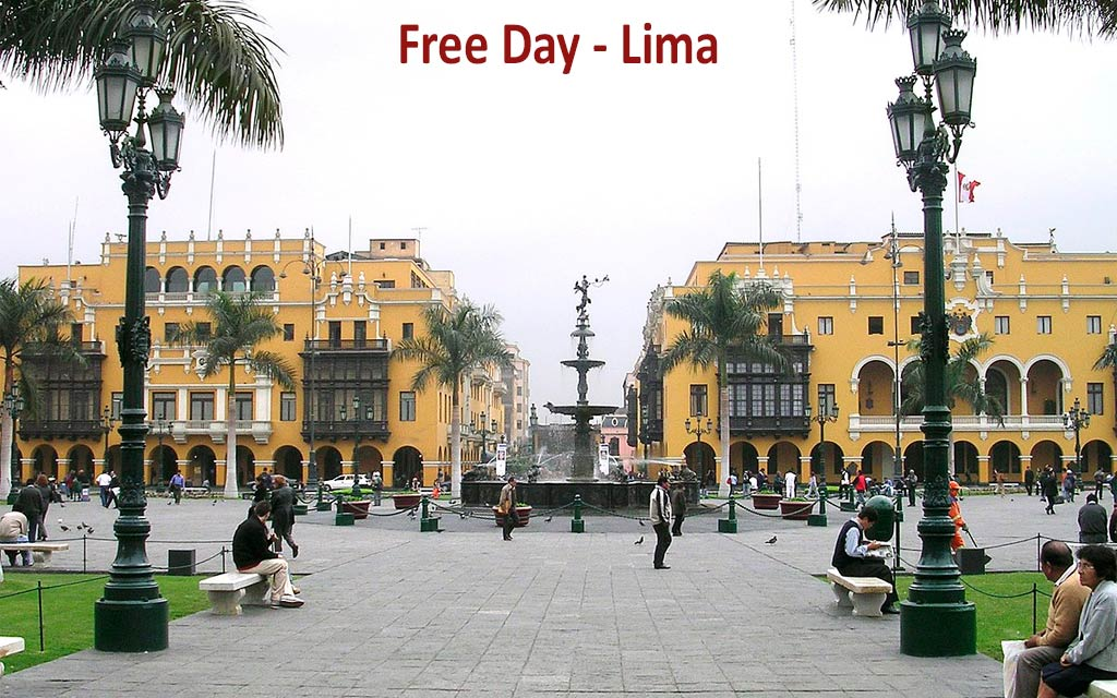 Day 3: LIMA COLONIAL CITY TOUR